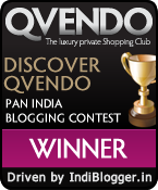 DISCOVER QVENDO IndiBlogger contest winner