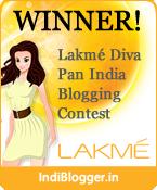 Lakme Diva IndiBlogger Contest Winner!