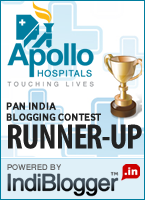 Apollo Touching Lives - IndiBlogger Contest Runner-up