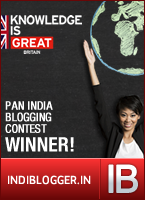 Knowledge Is Great IndiBlogger Contest Winner
