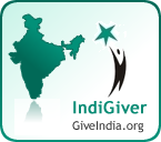 IndiGiver Badge for GiveIndia.org