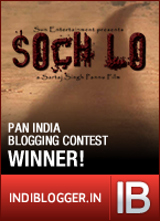 Soch Lo! Blogger Contest Winner