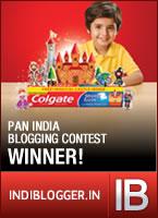 Colgate IndiBlogger Winner