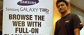 Samsung Galaxy Tab IndiBlogger Meet