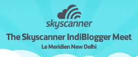 Skyscanner IndiBlogger Meet
