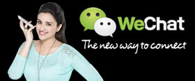 WeChat with Anyone, Anywhere!