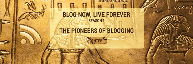 Blog Now, Live Forever