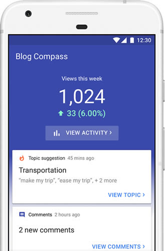 Blog Compass by Google