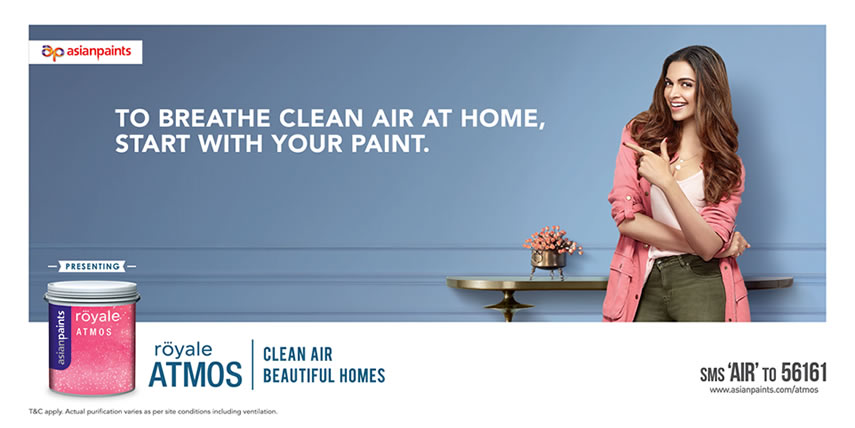 Royale Atmos - A Paint that helps purify air